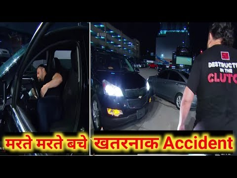 Roman Reigns Nearly Hit by a Car in Raw Parking | Raw Aug. 5, 2019 | Roman Reigns की मर्डर की कोशिस