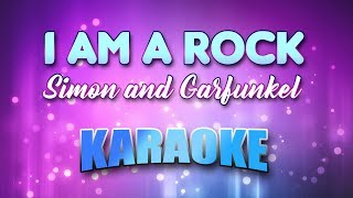Simon and Garfunkel - I Am A Rock (Karaoke & Lyrics)