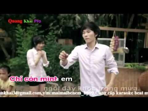 Karaoke Xin Đừng Bỏ Mặc Em   Ngọc thúy