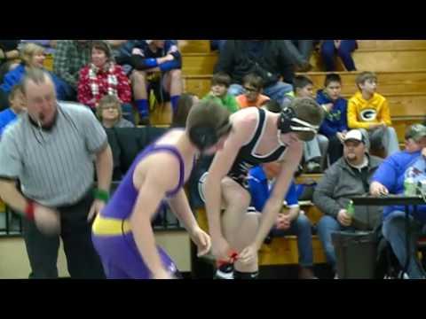 2/11/17 - Wrestling - WIAA Division 2 Regionals