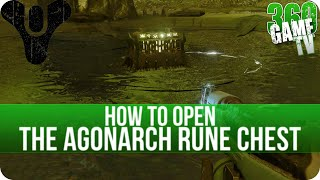 Destiny How to open the Agonarch Rune Chest (Charged Agonarch Rune) - Calcified Fragment XXXVI