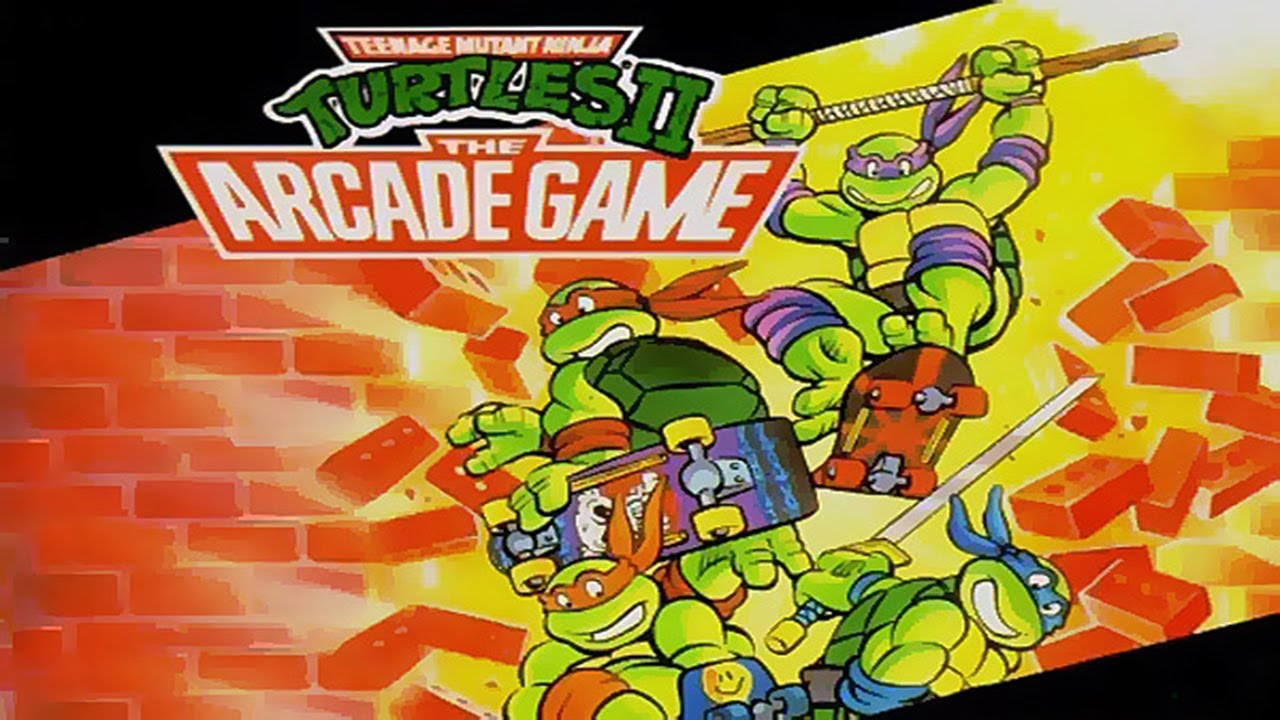 Arcade Game Wallpaper Group With 57 Items: Teenage Mutant Ninja Turtles 2 The Arcade Game Full 2P Co