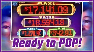💰🎰 These HIGH LIMIT Progressives are READY TO POP! 🎈🎈✦ Slot Machine Pokies w Brian Christopher