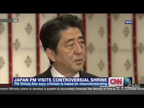 Japanese prime minister Abe visits Yasukuni Shrine shrounds sino japan relationship with a