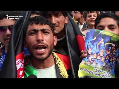 Afghan Cricket Team Comes Home To Hero's Welcome