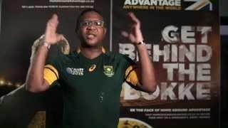 Sports Minister Fikile Mbalula launches #BokFriday #HomeGroundAdvantage