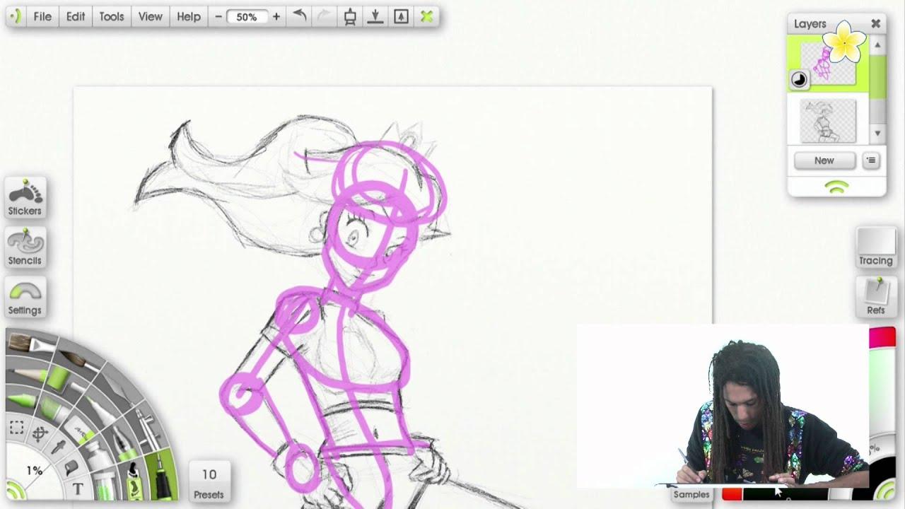 how to draw princess peach easy