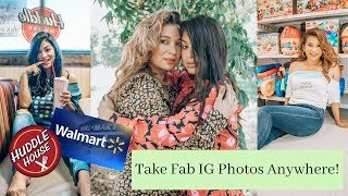 Take instagram pictures anywhere! | Ugly Location Photoshoot Challenge