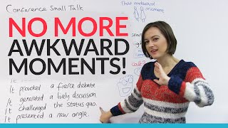 Business meeting & conference SMALL TALK – How to avoid that awkward moment!