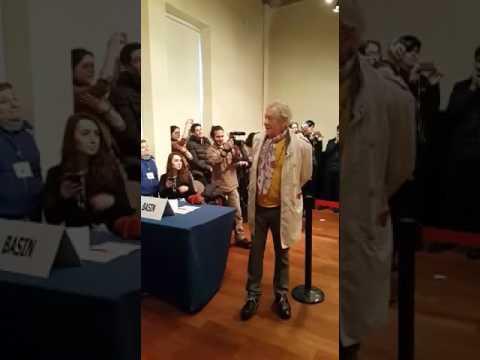 Sir Ian McKellen tears in Turkey - BUMC