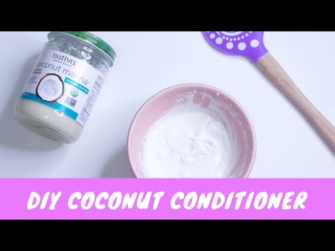 DIY Coconut Conditioner for Natural Hair