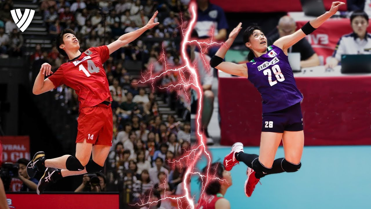 The Ishikawa Siblings - Young, Talented & Dangerous! | Best of the Volleyball World 2019