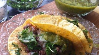 Salsa Verde Para Tacos Deliciosa Receta