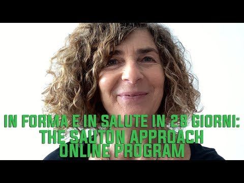 In forma e in salute in 28 giorni: The SAUTÓN Approach Online Program