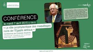 Conférence Christian Amatore du 7 avril 2015