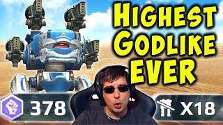 14x GODLIKE In Under 5 Min - GUST BLITZ Mk2 Gameplay War Robots WR