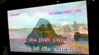Xinh tươi Việt Nam (tone nữ) - karaoke 5 số
