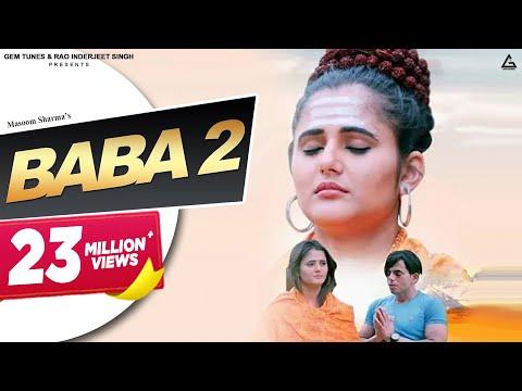 Baba 2 | Masoom Sharma | MK Chaudhary, Anjali Raghav | New Haryanvi Songs Haryanavi 2019