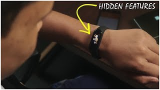 Most Useful Hidden Features Of Mi Band 4!