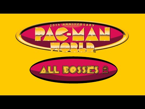 Pac-Man World (PS1) — All Bosses