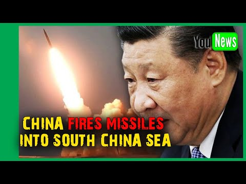 China fires missiles into South China Sea