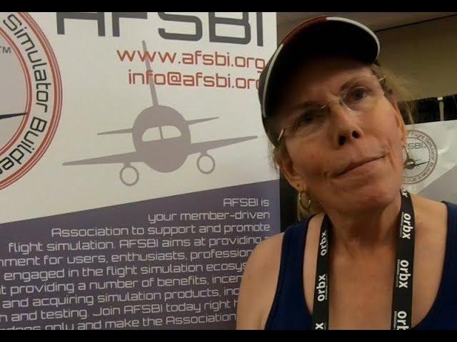 Laura Radigan talks about simulation for aerobatics