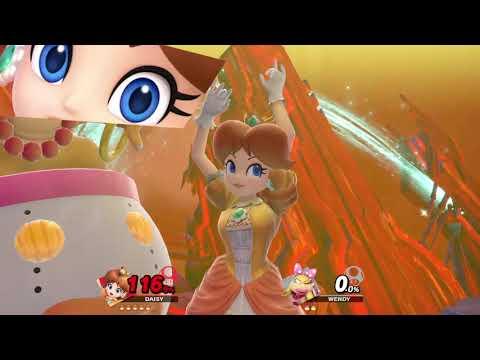 Super Smash Bros. Ultimate (Princess Daisy Vs. Wendy) Final Destination