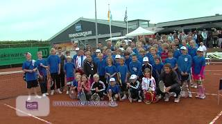 Nomi Sneek tennis event met Paul Haarhuis