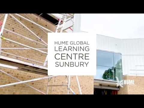 Hume Global Learning Centre Sunbury - August 2019 Construction Progress