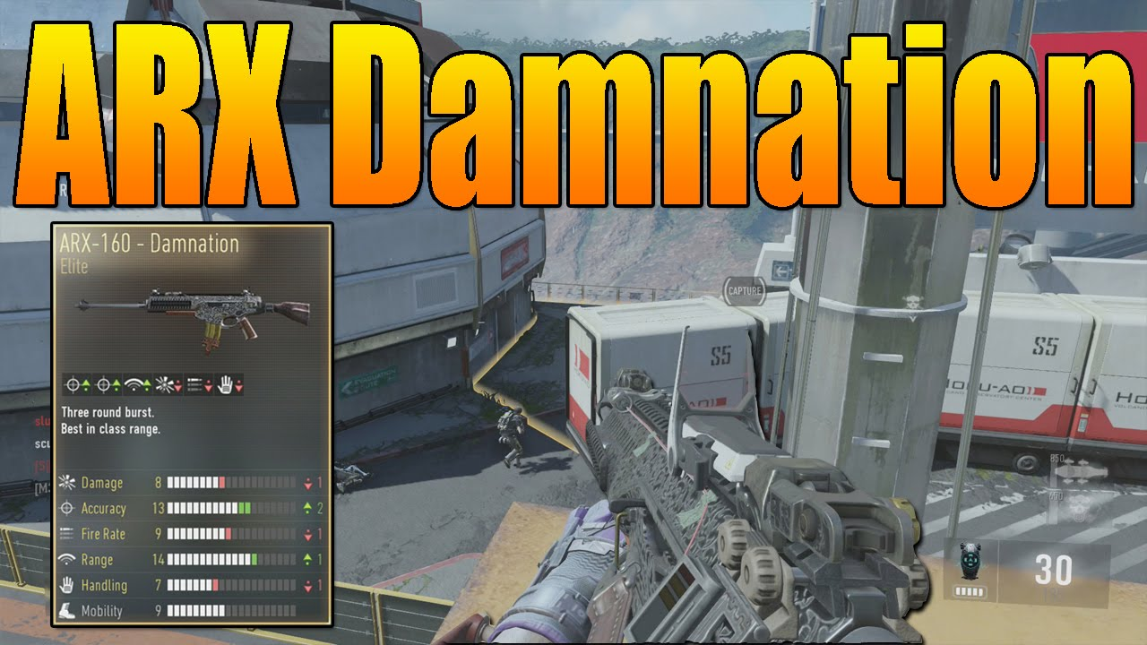 Weapons arx 160 damnation call of duty aw gun variant youtube