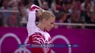 Ksenia Afanasyeva - FX Quals - London 2012 Olympics
