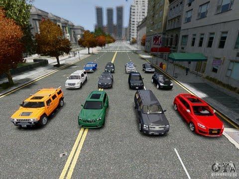 Тысячи машин для гта 4