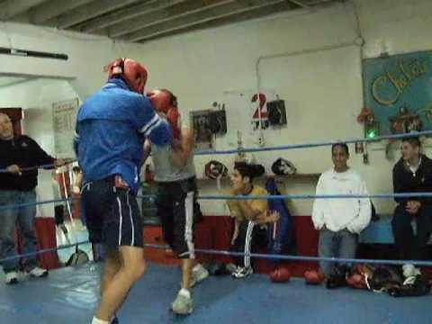 Featherweight Juan Carlos Burgos Spars Hector Velazquez