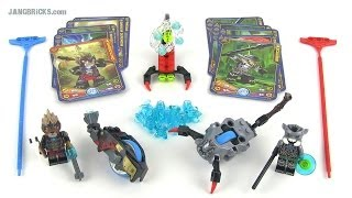 LEGO Chima Speedorz 70140 Stinger Duel set review with SHADOWIND!