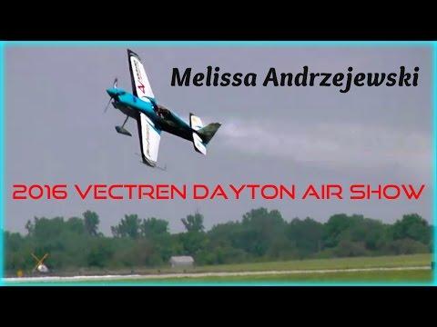 Melissa Andrzejewski - 2016 Vectren Dayton Air Show HD