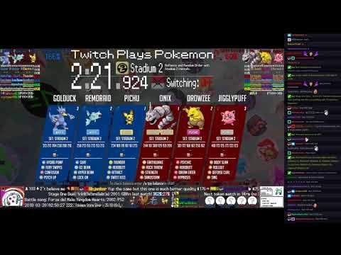 Twitch Plays Pokémon Battle Revolution - Matches #111141, #111142 and #111143