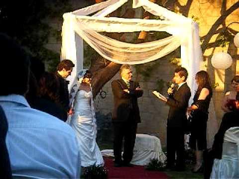 Emma y linda espinosa en la boda de edith marcos youtube for Annette moreno y jardin