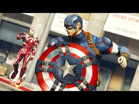 IRON MAN vs CAPTAIN AMERICA!!