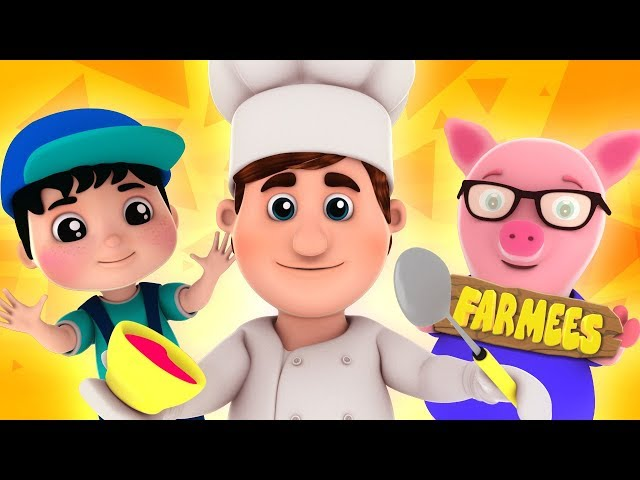 Muffin Man | Kindergarten Songs And Videos by Farmees