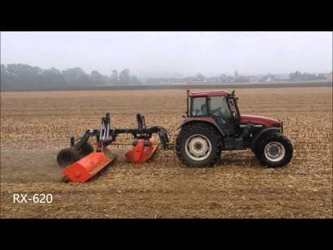 """""""Perfect"""" RX-620 trailed flail mower combination"""
