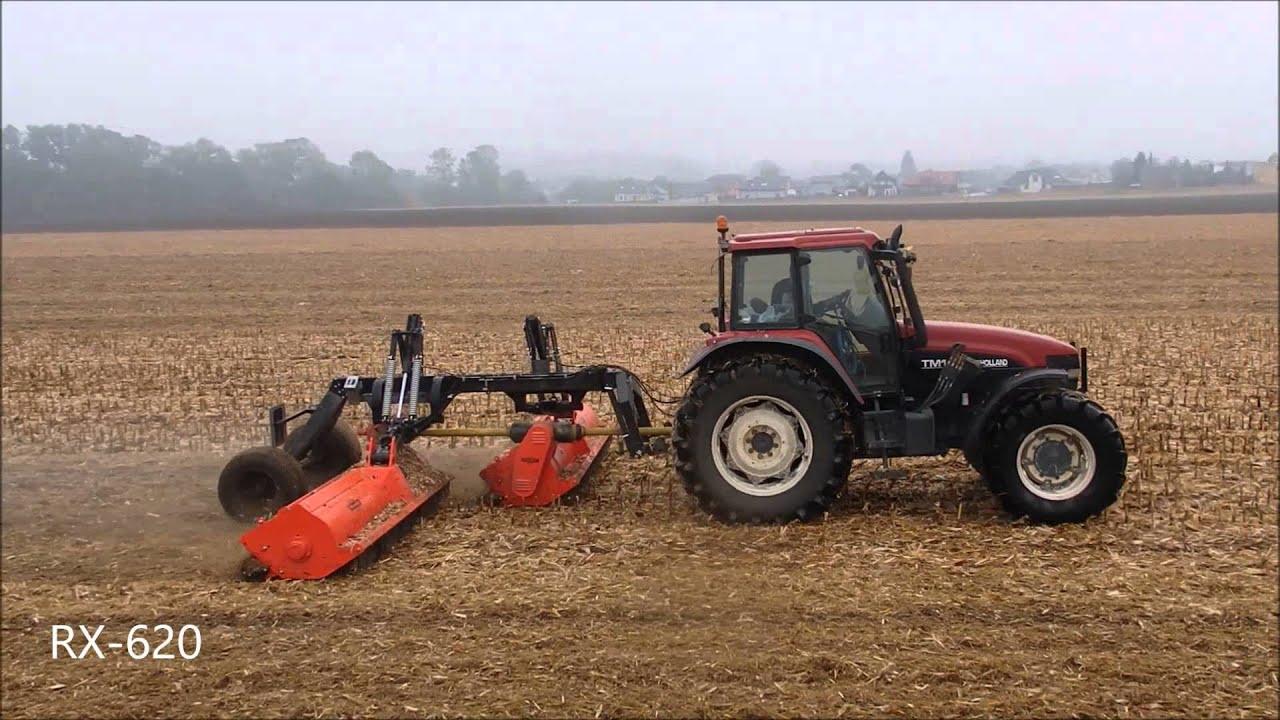 RX-620 trailed HD flail shredder - Perfect - Van Wamel B V