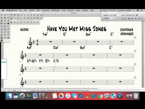 How to put 6/9 chord symbols into Finale