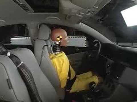 Crash Test 2006 - 2010 Volkswagen Passat (sedan & wagon) IIHS (Side Impact)