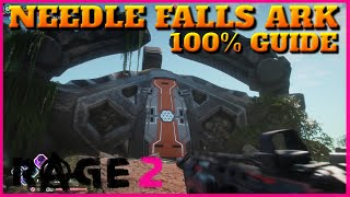 Rage 2 where to find the grav-dart launcher. needle falls ark location in 2. all storage containers, chest, data pad and new weapon called grav-dart...