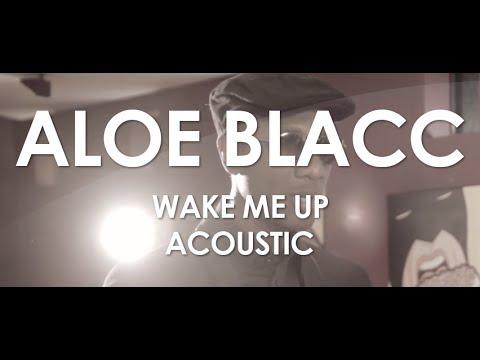 Aloe Blacc  Wake Me Up  Acoustic   in Paris