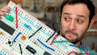 Como funciona uma protoboard #ManualMaker Aula 3, Vídeo 2