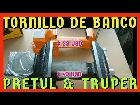 PRETUL O TRUPER Tornillo de Banco vincent92