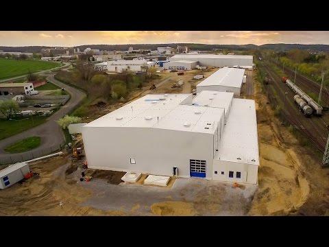 MEGAFLEX Schaumstoff GmbH - Building Phase