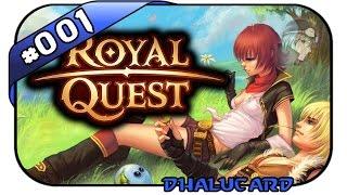 ROYAL QUEST #001 - DIE SIEHT AUS WIE... - Let's Play Royal Quest - Deutsch German - Dhalucard