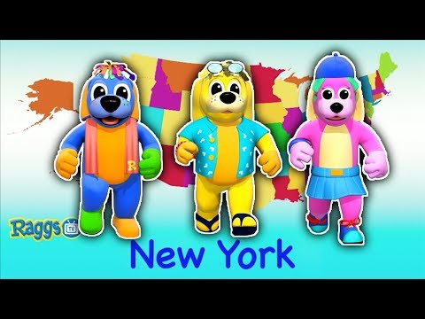 Nursery Rhyme Songs | 50 States That Rhyme | Kids Songs to Dance To | Nursery Rhymes Compilation
